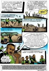 Page Twelve  Infographic: Preventing malaria, sanitation-related diseases Page12 209x300