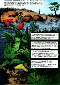 Page Four  Infographic: Preventing malaria, sanitation-related diseases Page4 210x300