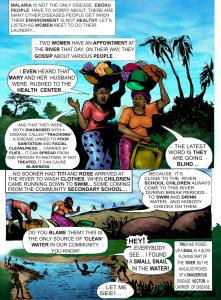 Page Five  Infographic: Preventing malaria, sanitation-related diseases Page5 221x300