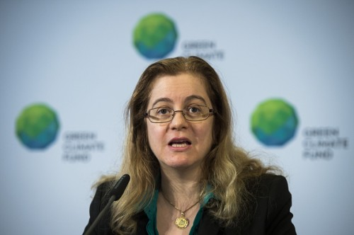 Hela Cheikhrouhou, Executive Director of the Green Climate Fund. Photo credit: gettyimages.com