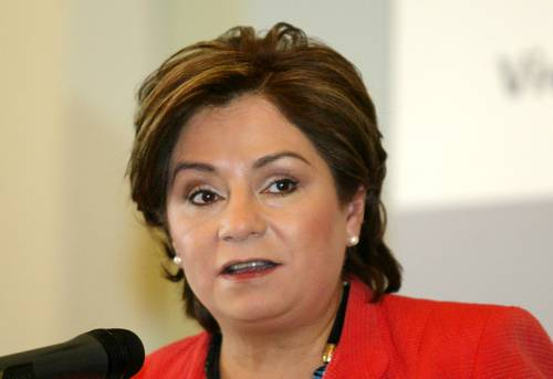 Patricia Espinosa, executive secretary of the United Nations Framework Convention on Climate Change (UNFCCC)