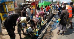 sanitation exercise in Lagos
