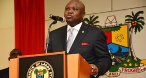 Akinwunmi-Ambode  Lagos unveils plans to fix roads, tackle flooding Akinwunmi Ambode 300x160