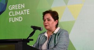 Patricia Espinosa  Govts commit to take forward vital work to tackle climate change in 2020 GCF Espinosa 300x160