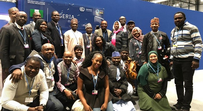 Nigerian Delegation to COP25